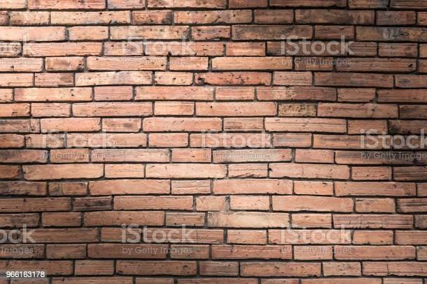Tegel Vägg Textur Eller Tegel Vägg Bakgrund Tegelvägg För Interiör Exteriör Dekoration Och Industribyggnation Konceptdesign Tegel Vägg Motiv Som Uppstår Naturligt-foton och fler bilder på Abstrakt