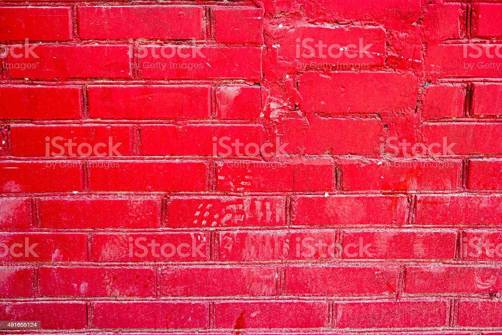 Photo Libre De Droit De Mur De Briques Et De Peinture