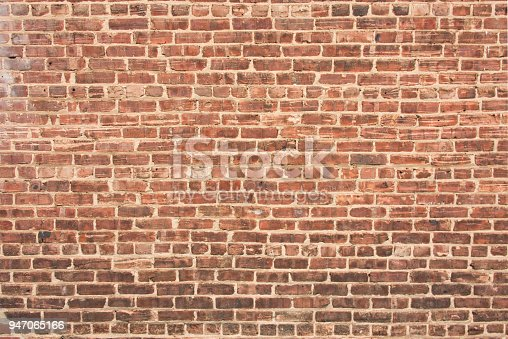 istock Brick Wall with Dark Gradient at Bottom 947065166