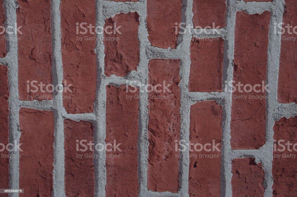 Murs de briques, espace de vie est l'arrière-plan - Photo de Architecture libre de droits