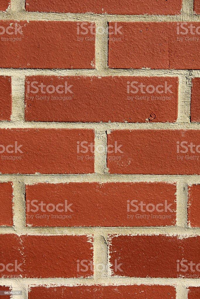 Brick work royalty-free stock photo