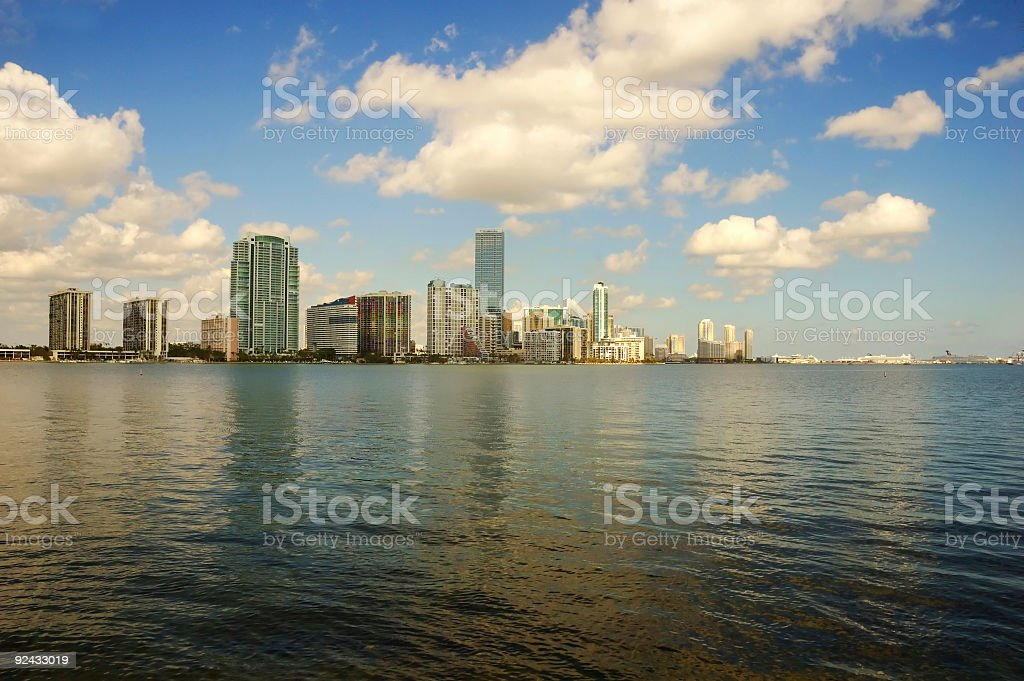 brickel from biscayne royalty-free stock photo