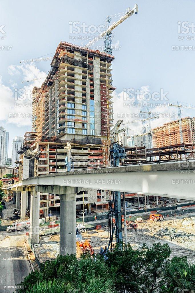 Brickell Growing stock photo