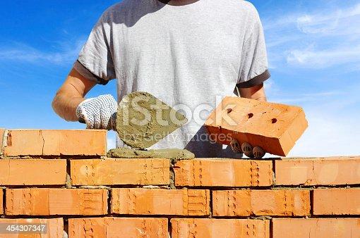 istock bricklayer 454307347