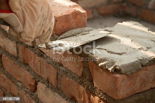 istock Bricklaying 481361798