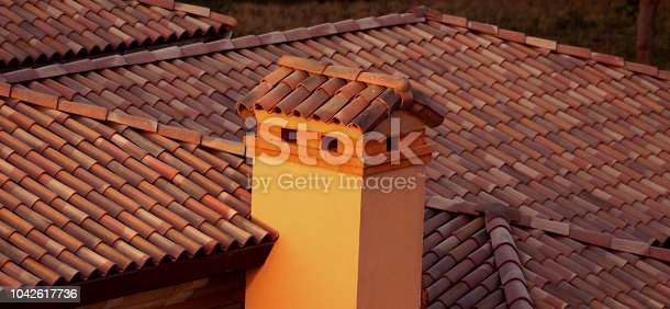 bricks and roof