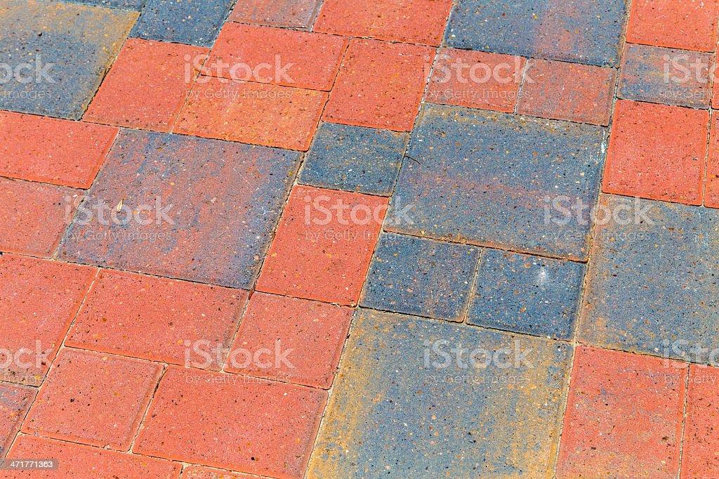 bricks at the floor royalty-free stock photo