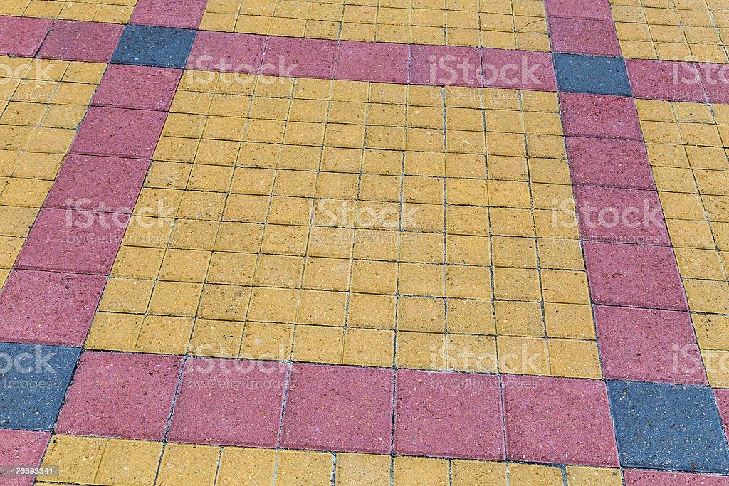 bricks at the floor stock photo