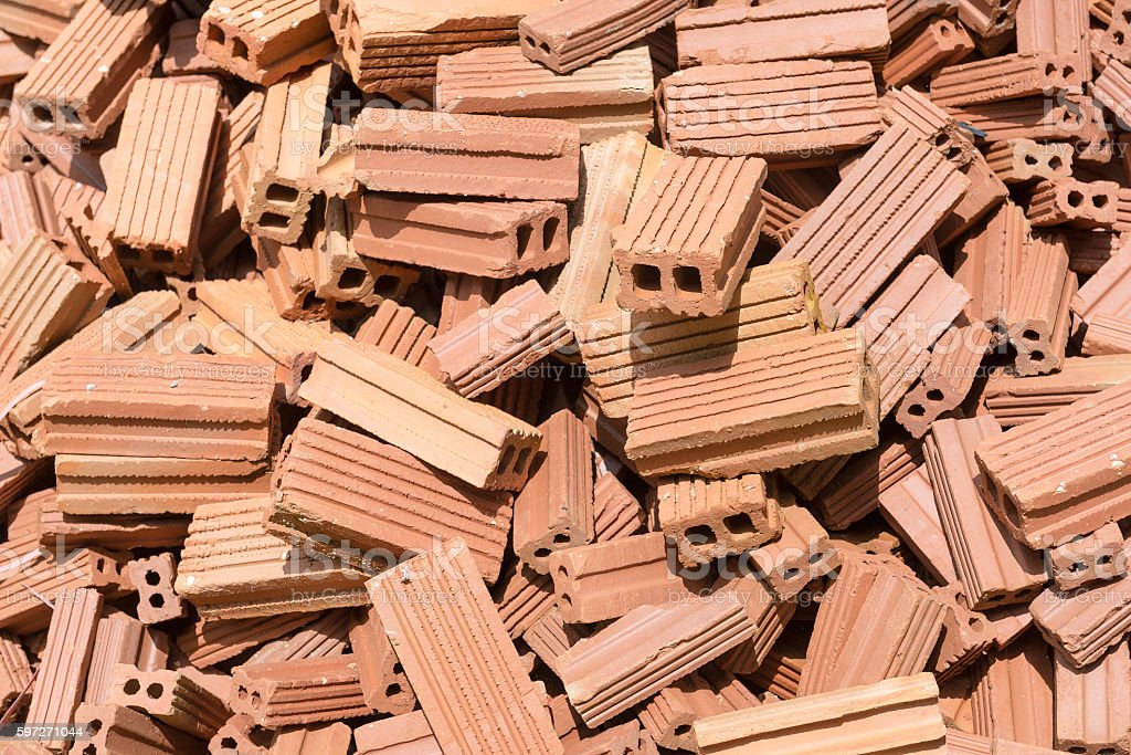 Bricks mound Lizenzfreies stock-foto