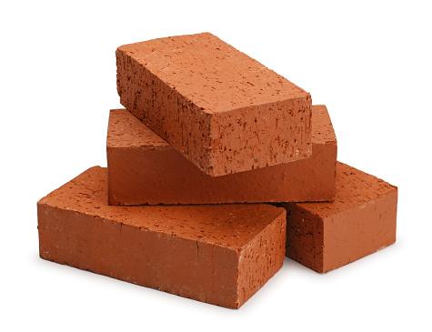 A stack of bricks.