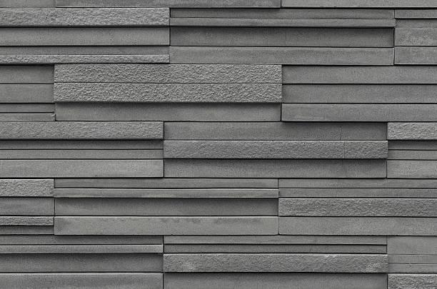 bricks slate texture background, slate stone wall texture - schiefer fliesen stock-fotos und bilder