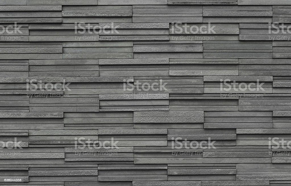 Bricks slate texture background, slate stone wall texture stock photo