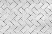 Bricks tiled floor with zigzag pattern texture background
