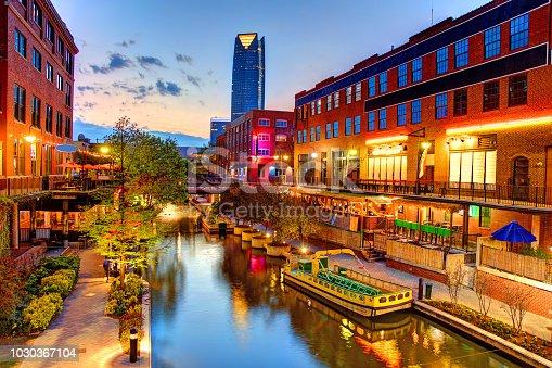 istock Bricktown, Oklahoma City 1030367104