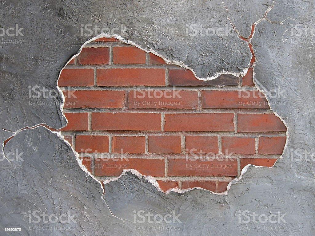 brickwall frame royalty-free stock photo