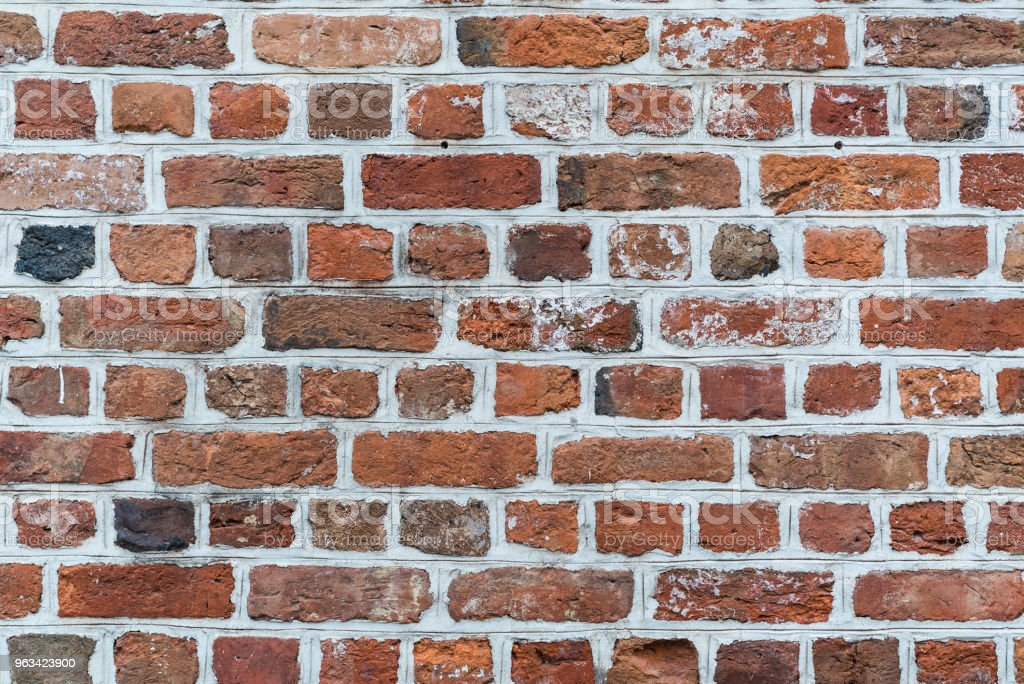 Brickwall Texture - Zbiór zdjęć royalty-free (Antyczny)