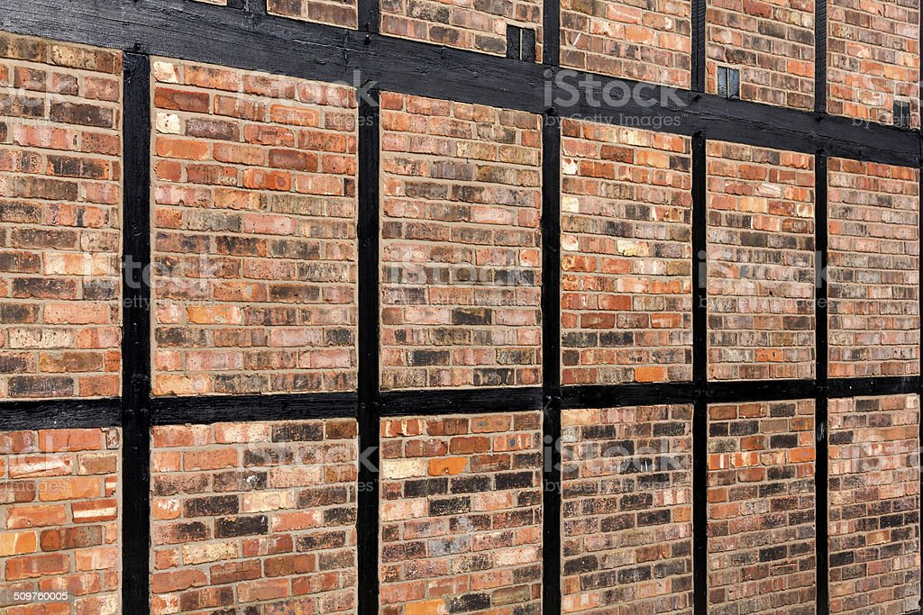 Brickwork Timber Frame Stock Photo & More Pictures of Ancient | iStock