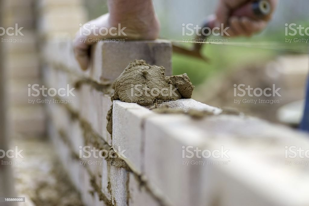 Bricky... stock photo