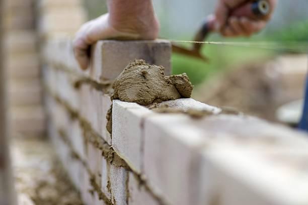 Bricky... stock photo