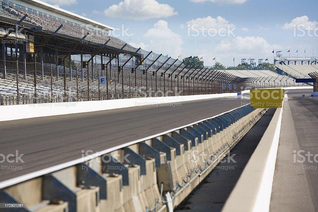 Brickyard 400 Track stock photo
