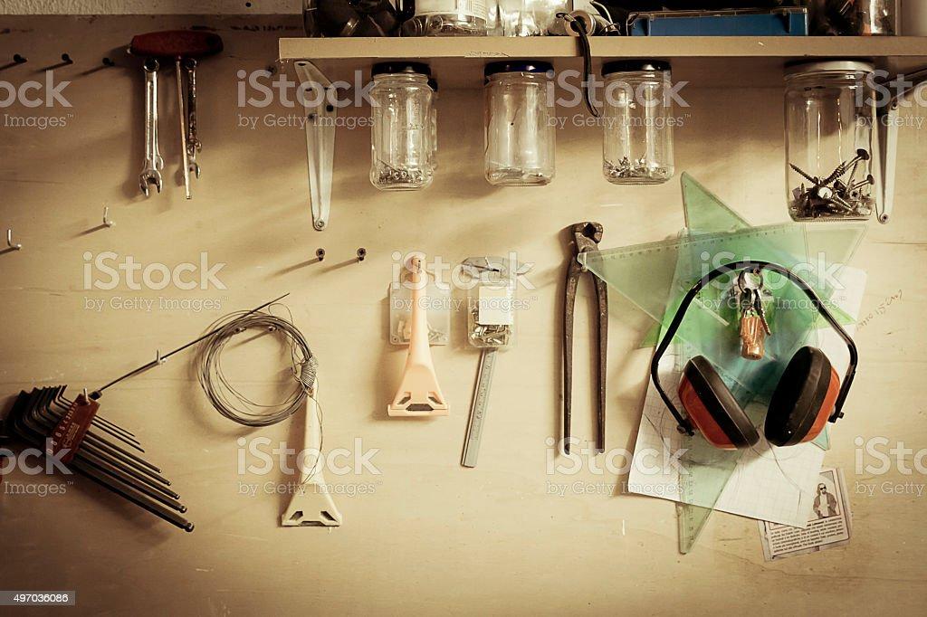 Bricolage stock photo