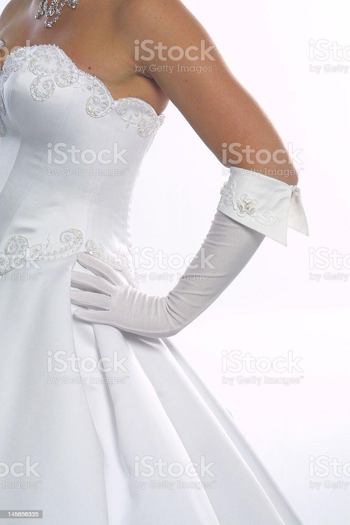 bridal attitude stock photo