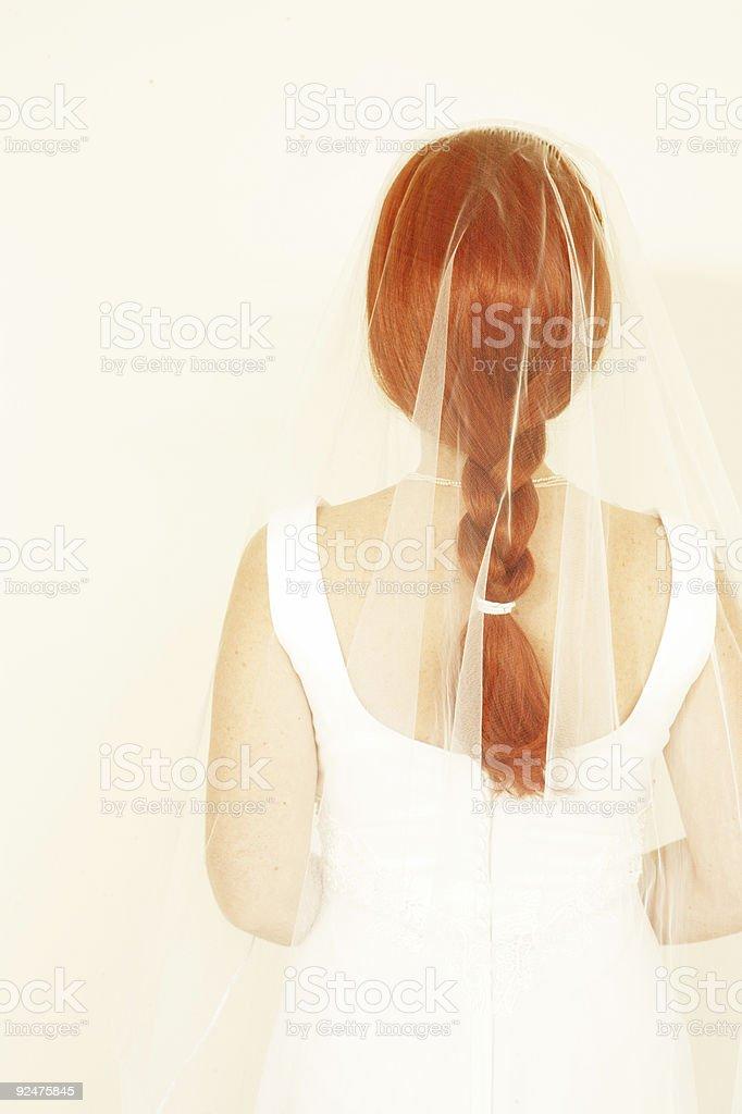 Bridal Back royalty-free stock photo