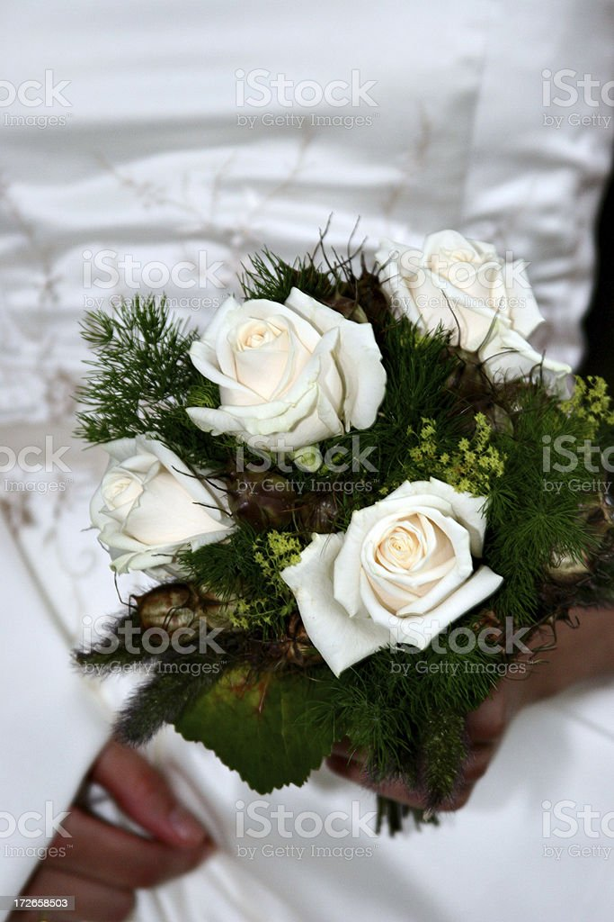 Bridal bouquet III royalty-free stock photo