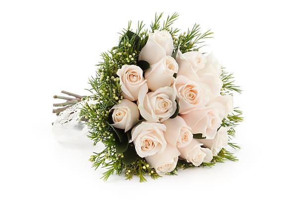 bridal bouquet - boeket stockfoto's en -beelden