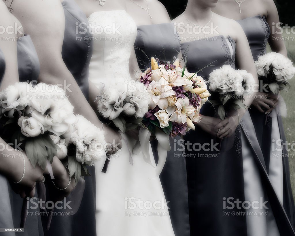 Bridal Bouquets stock photo