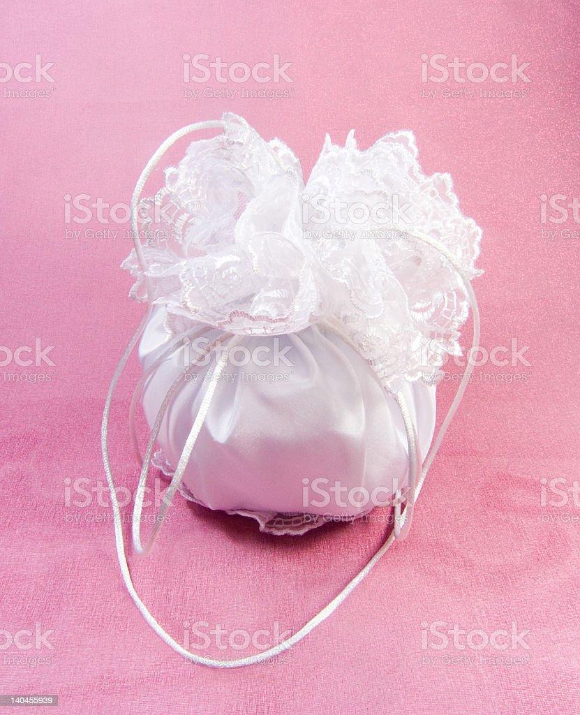 Bridal Dorothy Bag royalty-free stock photo