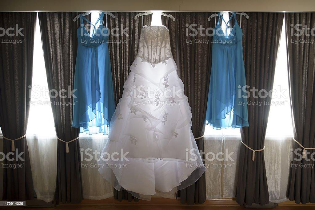 Bridal Dresses stock photo