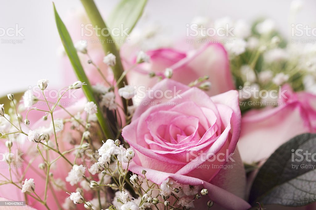 bridal flowers stock photo