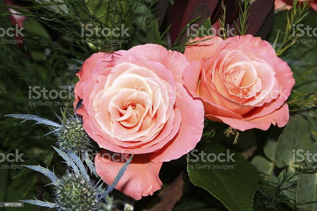 Bridal flowers royalty-free stock photo