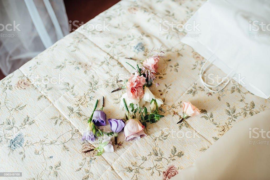 Braut Strumpfband mit anderen Details Lizenzfreies stock-foto
