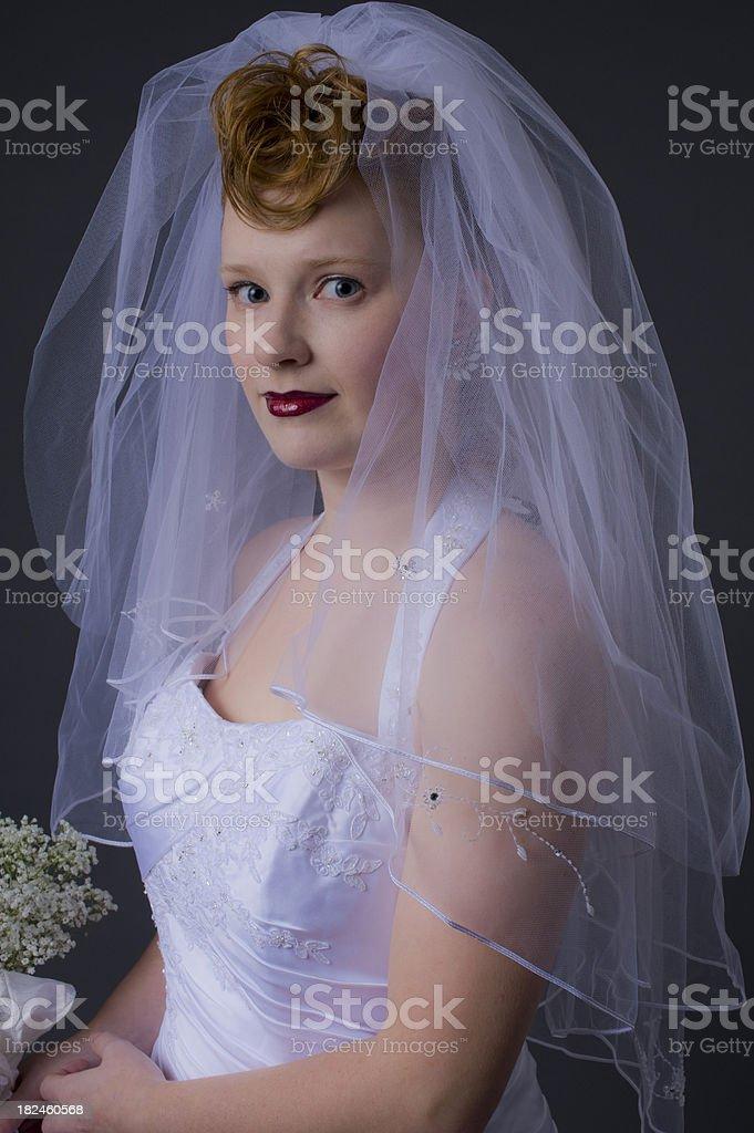 Bridal portrait royalty-free stock photo