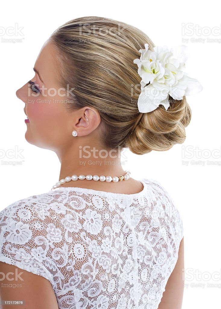 Bridal Style royalty-free stock photo