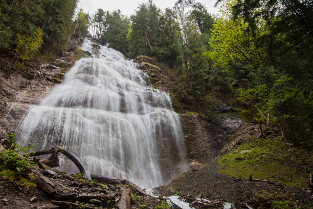 Bridal Veil Falls stock photo