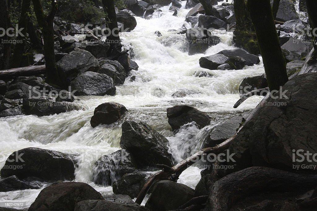 Bridalveil Creek - Yosemite stock photo