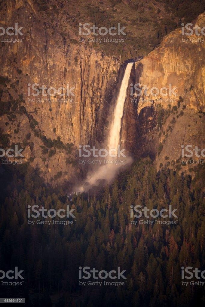 Bridalveil falls royalty-free stock photo