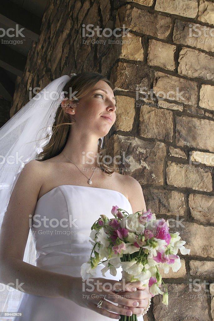 Sposa 4 foto stock royalty-free