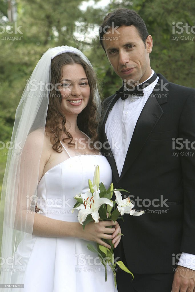 Bride and Groom - 2 royalty-free stock photo