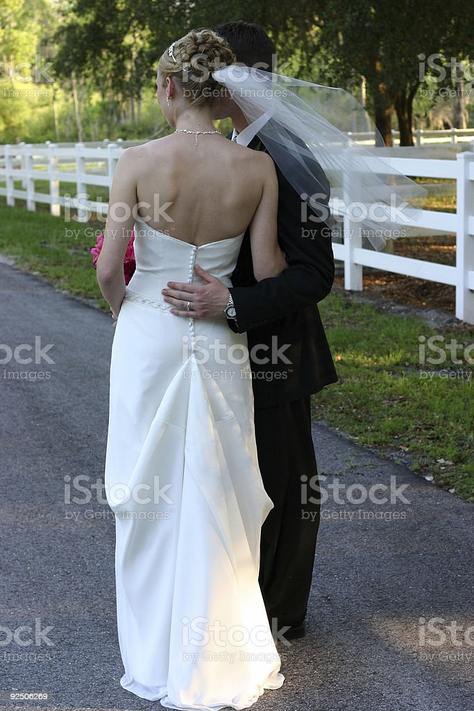 Bride and Groom 3 royalty-free stock photo