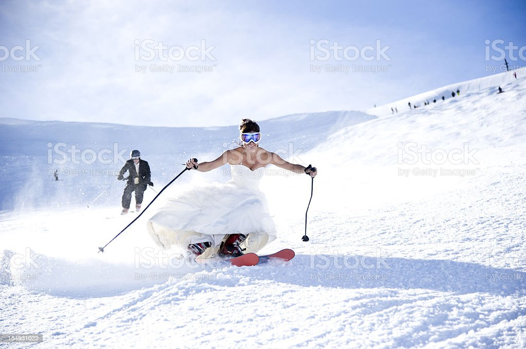 Braut und Bräutigam – Foto
