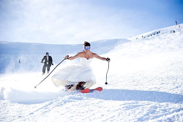braut und bräutigam - verlobungskleider stock-fotos und bilder