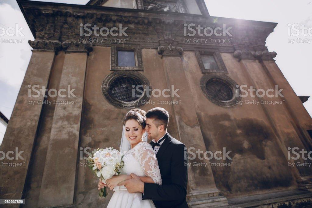 신부 및 신랑 royalty-free 스톡 사진