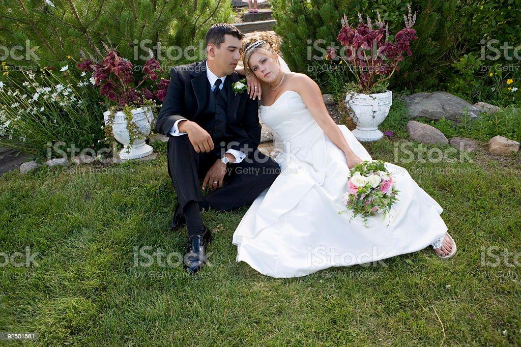 Braut und Bräutigam Lizenzfreies stock-foto