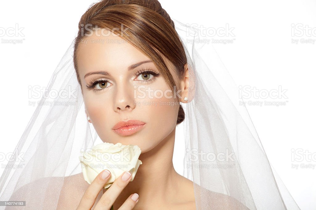 Bride beauty royalty-free stock photo