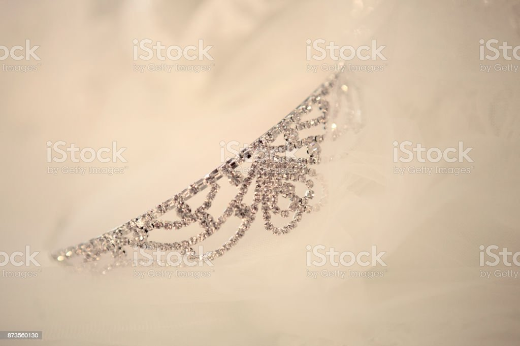 Bride Crown In White Soft Background Stock Photo Download Image Now Istock
