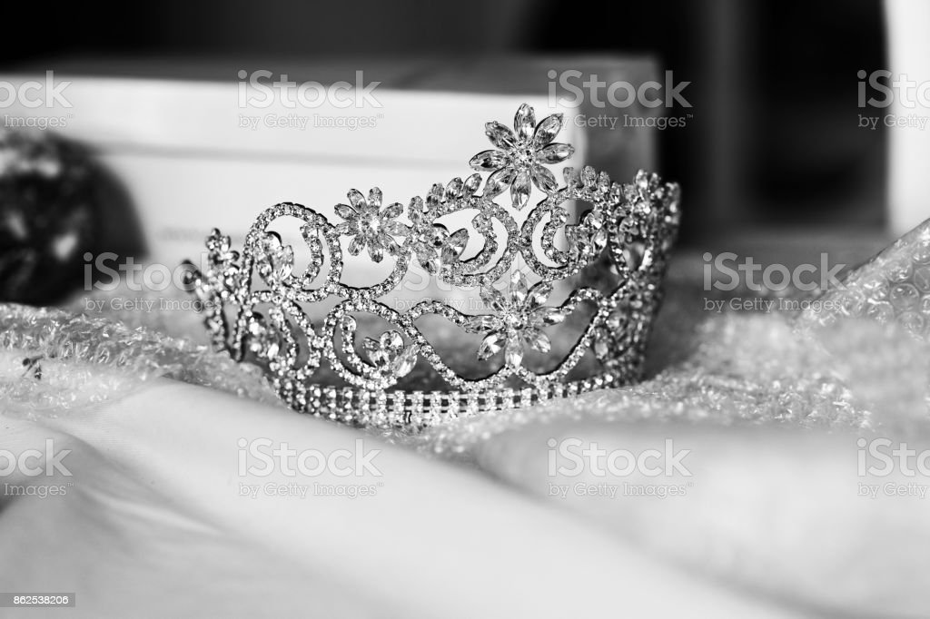 Bride Crown stock photo